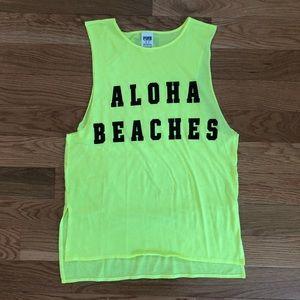 Aloha Beaches Muscle Tank Top